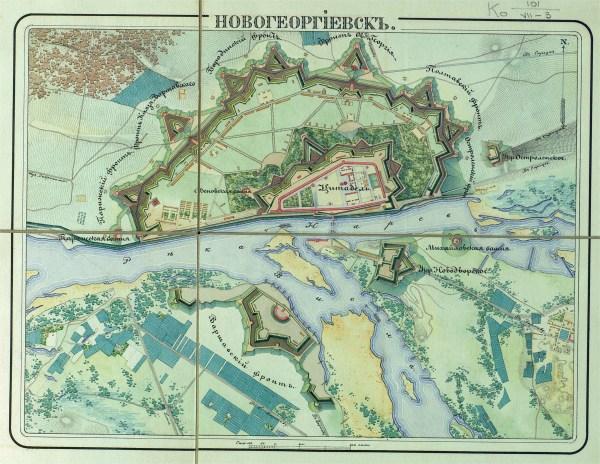Падение Новогеоргиевскй крепости 187 Военное обозрение