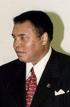 Muhammad Ali, who engaged in more 'fight of th...