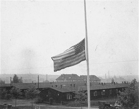Buchenwald American Flag 23060