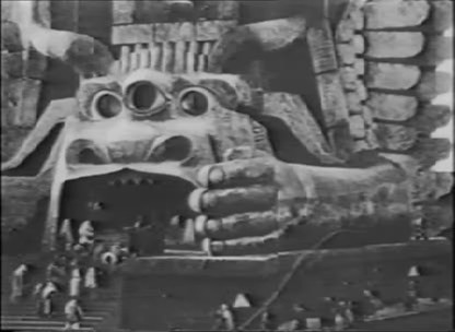 Screenshot from Cabiria (1915) is in the public domain
