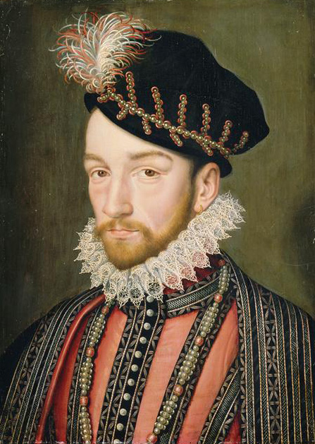 Portrait of Charles IX of France, François Clouet (1515–1572.