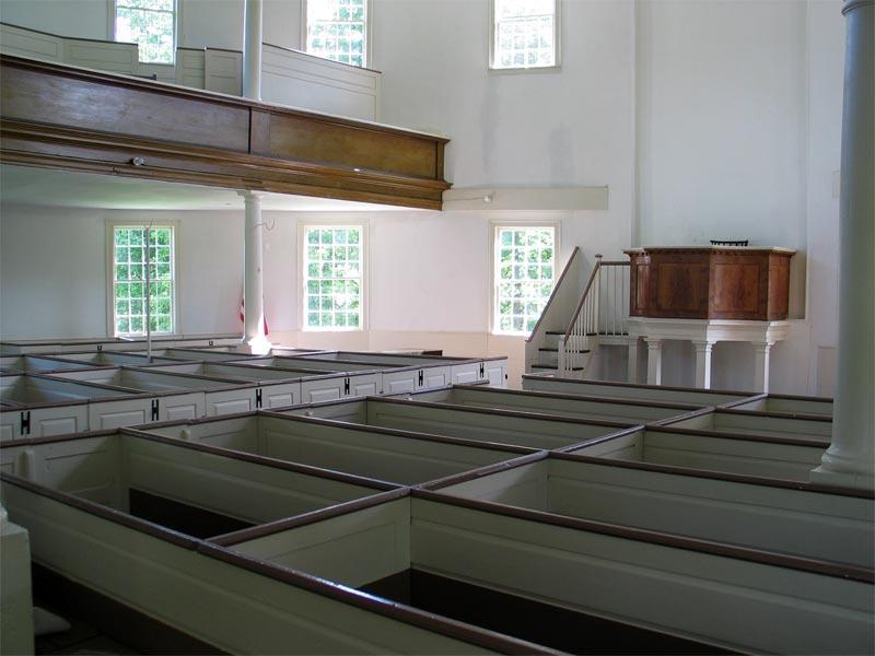 Round Church Interior