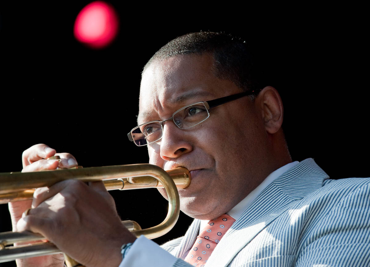 English: Wynton Marsalis at the Oskar Schindle...
