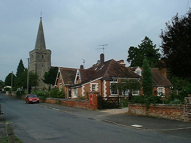 Castle Morton church and Old School