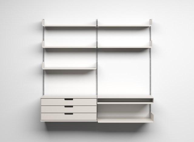 Contoh desain antarmuka pengguna / user interface yang minimalis dan modern.