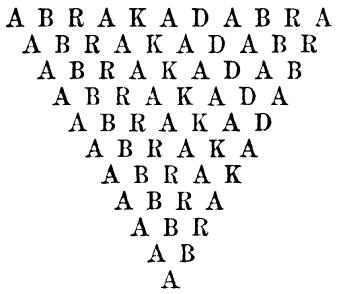 Resultado de imaxes para abracadabra