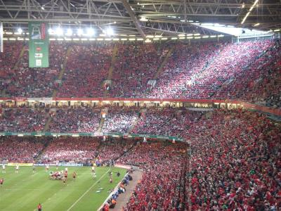 Millennium Stadium in Cardiff full of people - what if the number of people represented how many mistakes you make to become an expert.