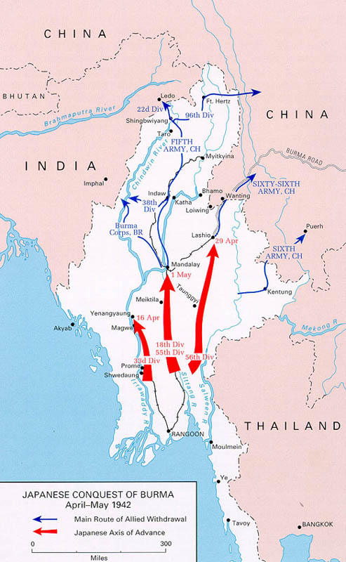 Burma Campaign 1942 1943