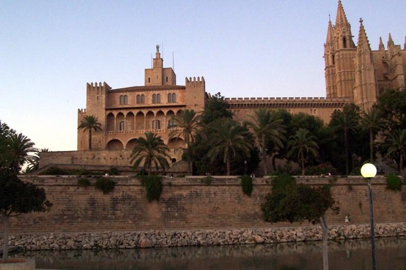 Almudaina Palace in Palma.