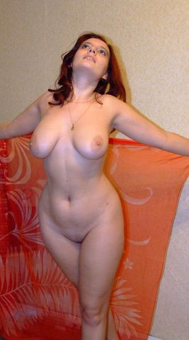 English: Woman poses nude on other sites and i...