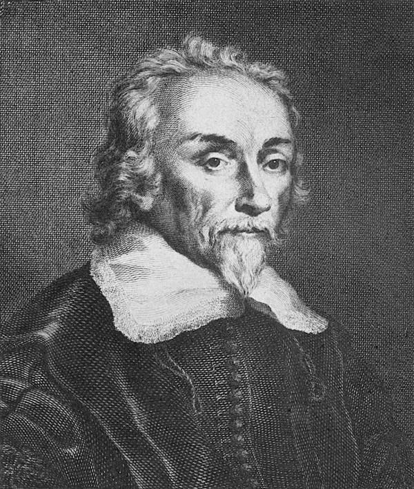 File:Portrait of William Harvey (1578 - 1657), surgeon ...