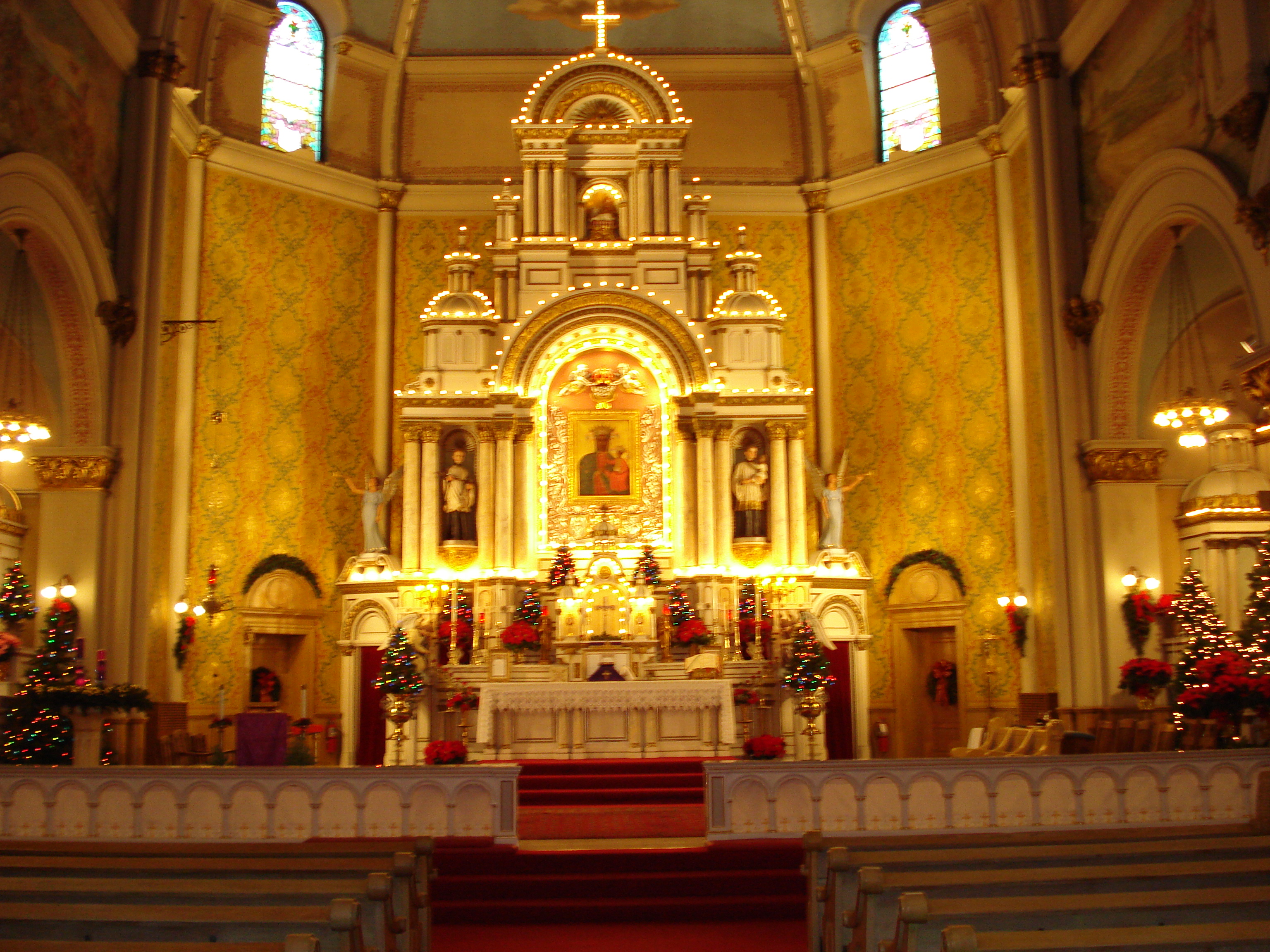 Reredos of Saint Josaphat Church
