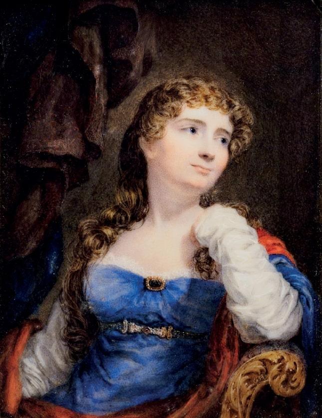 Portrait of Annabella Byron (nee Anne Isabella...