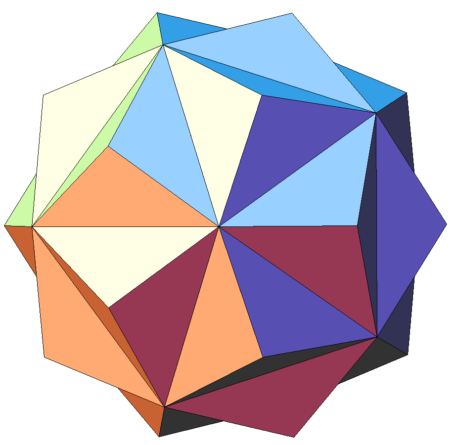 image of small triambic isosahedron