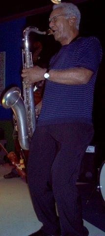 English: Kidd Jordan at The Velvet Lounge in C...
