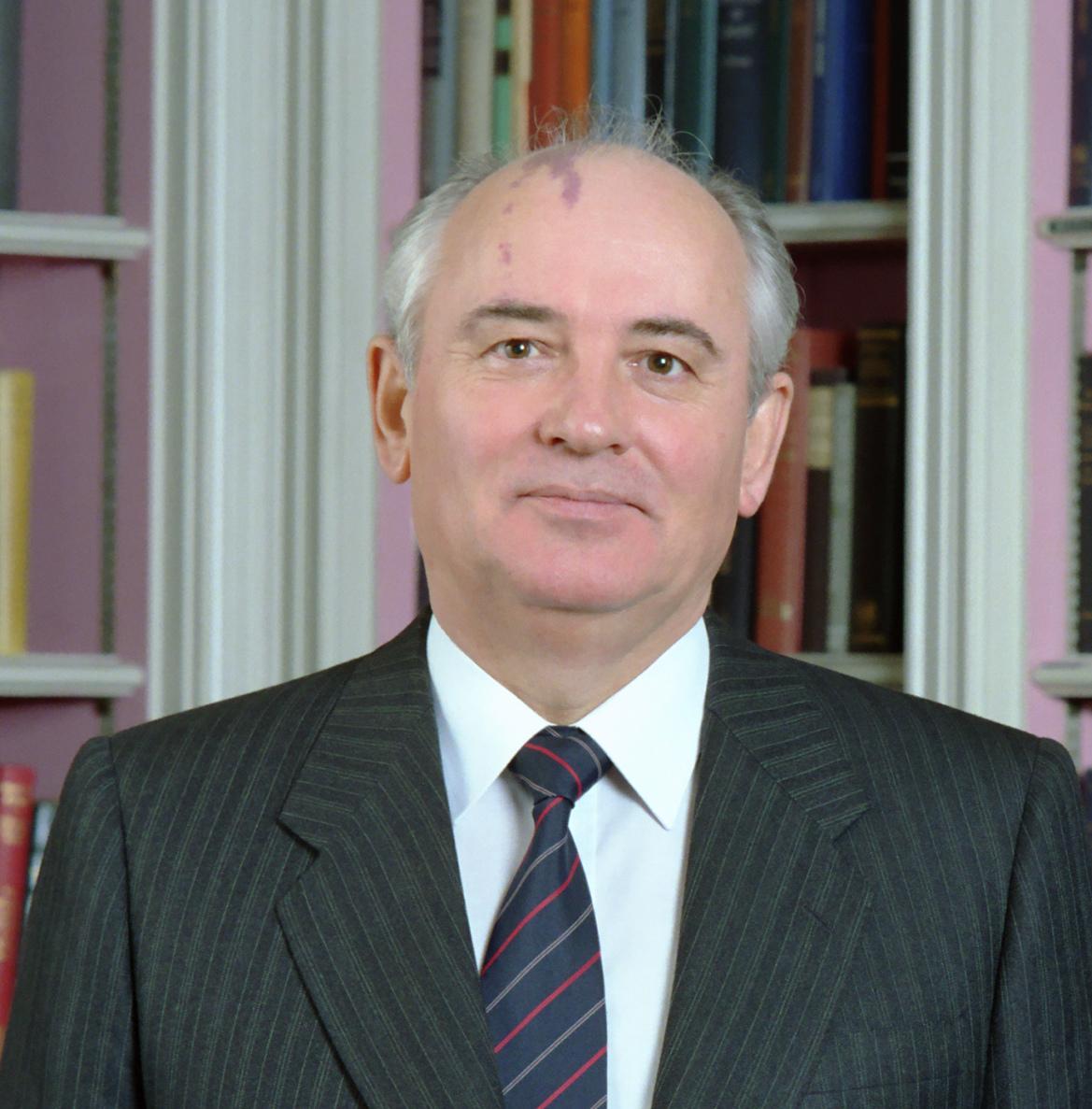 Soviet General Secretary Gorbachev in the Whit...