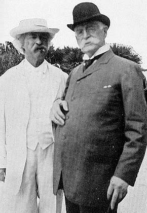 A late life friendship for each, Mark Twain an...