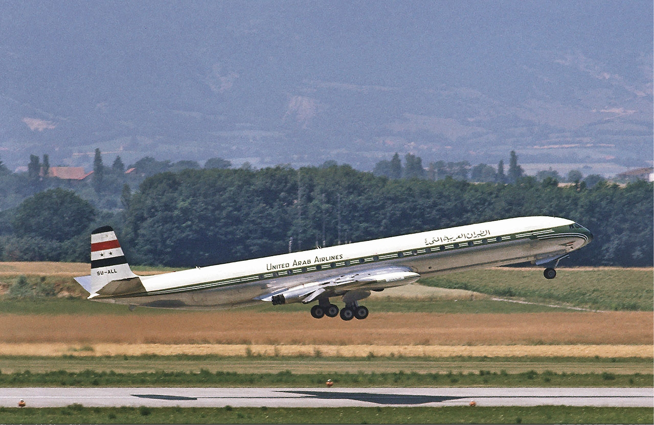 A United Arab Airlines Comet