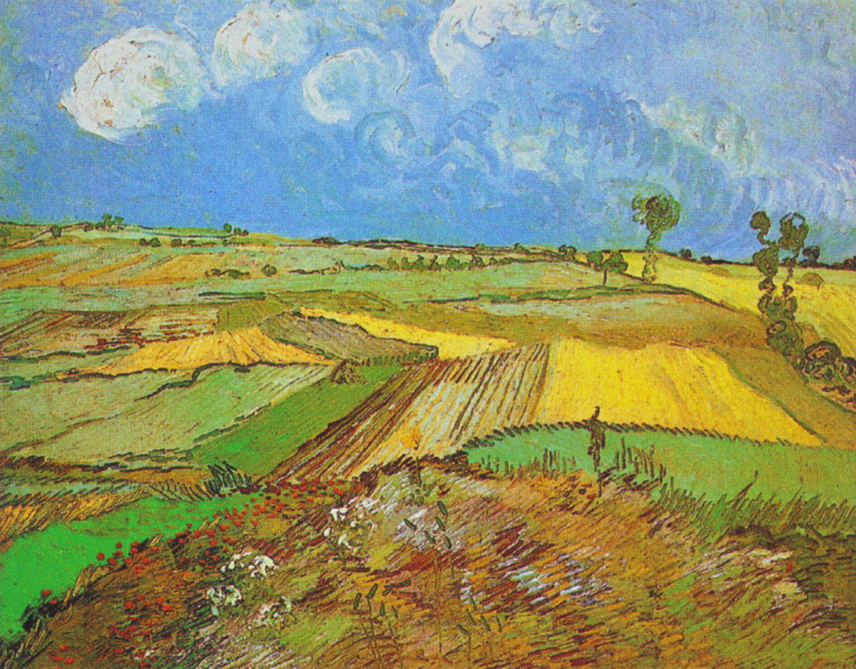 Wheat Field With Cypresses Saint Remy September 1889