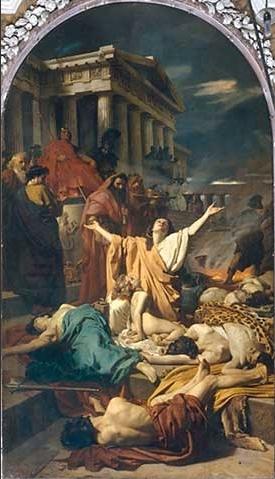 Antonio Ciseri's Martyrdom of the Seven Maccab...