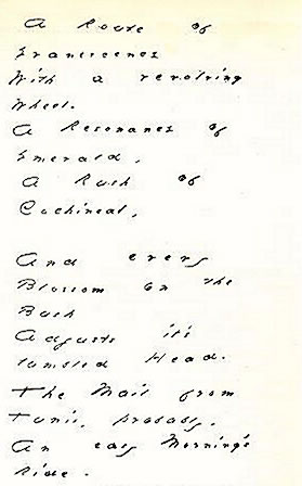 "Dickinson wrote and sent this poem (""A Ro..."