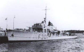Gyller 1953 fregatiksi muutettuna
