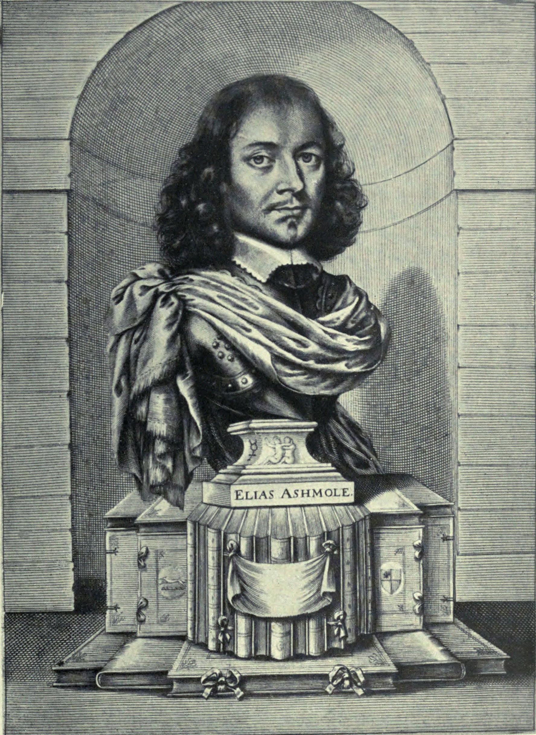 Elias Ashmole, compiler of the Theatrum Chemicum Britannicum