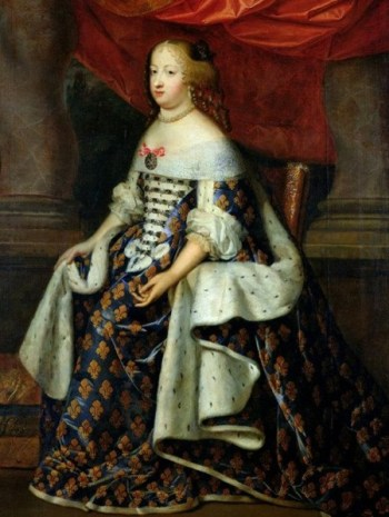 File:Marie Thérèse of Austria in state robes as Queen of France (Versailles).jpg