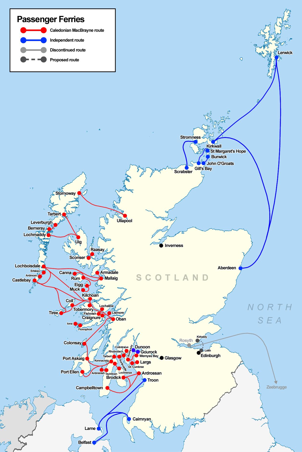 Transport In Scotland