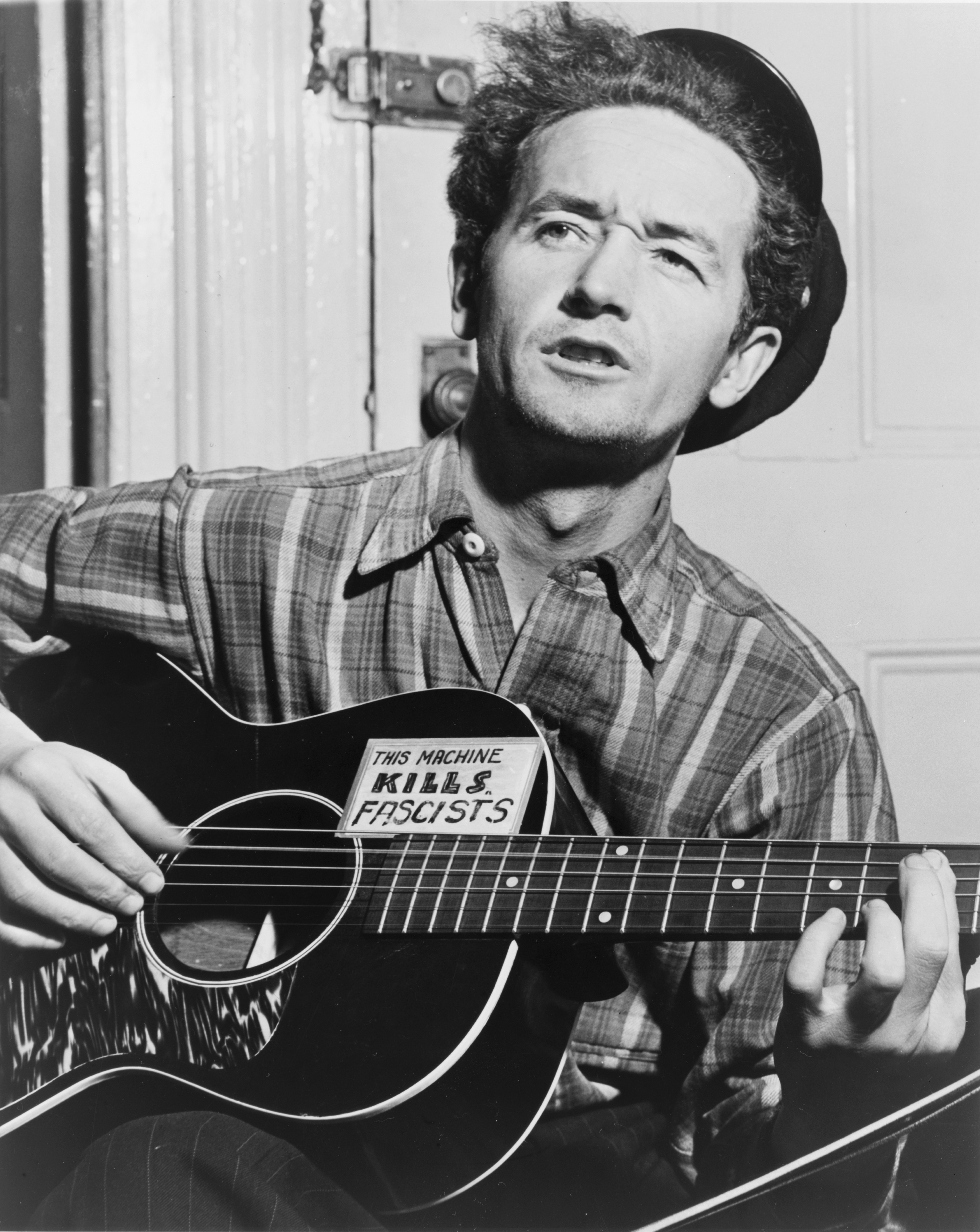 Woody Guthrie from Wikicommons