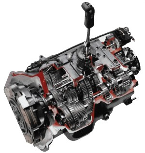Cutaway view of an Allison 3000 transmission