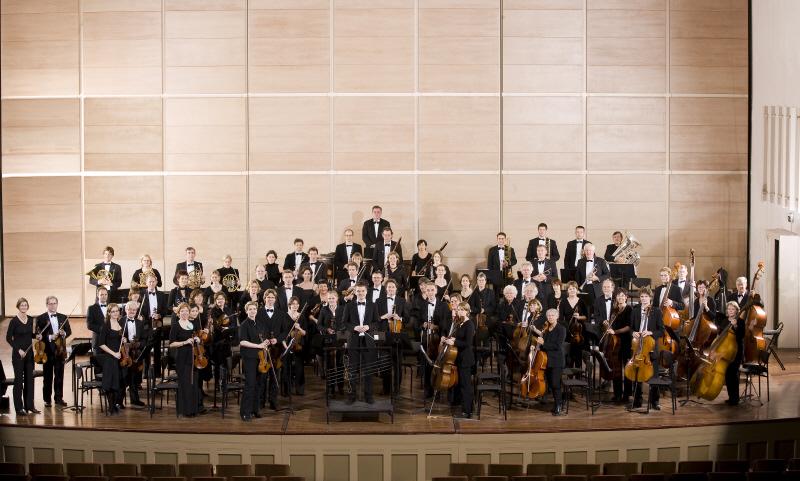 orchestra; seating arrangement; Nijmegen; Nijmegen studenten orkest