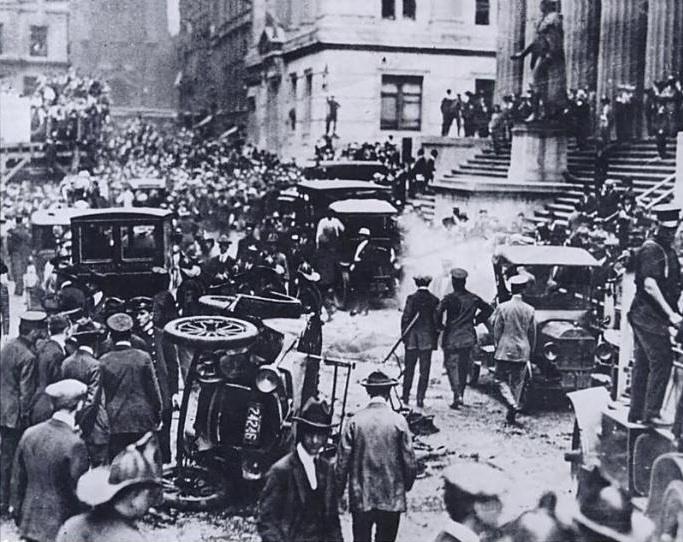 Bomb in Wall Street, 1920