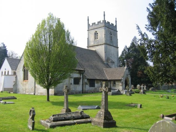 Photo of St Lawrence's parish church, Barnwood, Glouceste