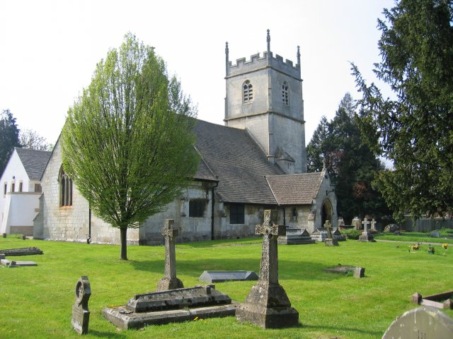 Photo of St Lawrence's parish church, Barnwood, Glouceste