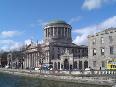 Photo of The Four Courts, Dublin, today