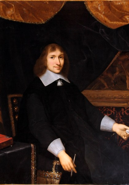 Nicolas Fouquet painted by Charles Le Brun