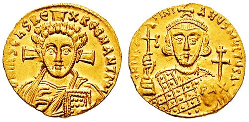 File:Solidus-Justinian II-Christ b-sb1413.jpg