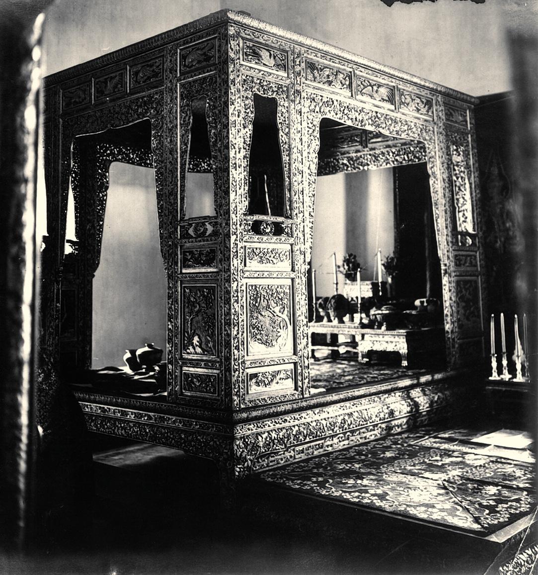 File Canopy Bed Of The King At The Chakraphat Phiman Hall