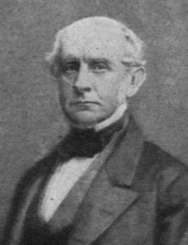 Black-and-white portrait of Charles Francis Ad...
