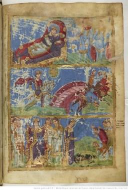 Dream of Constantine Milvius BnF MS Gr510 fol440