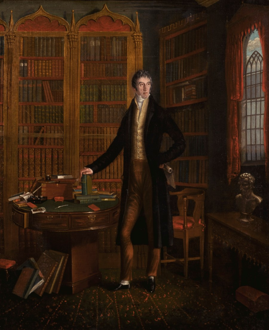 File:Henry Grattan MP, in a library.jpg - Wikimedia Commons