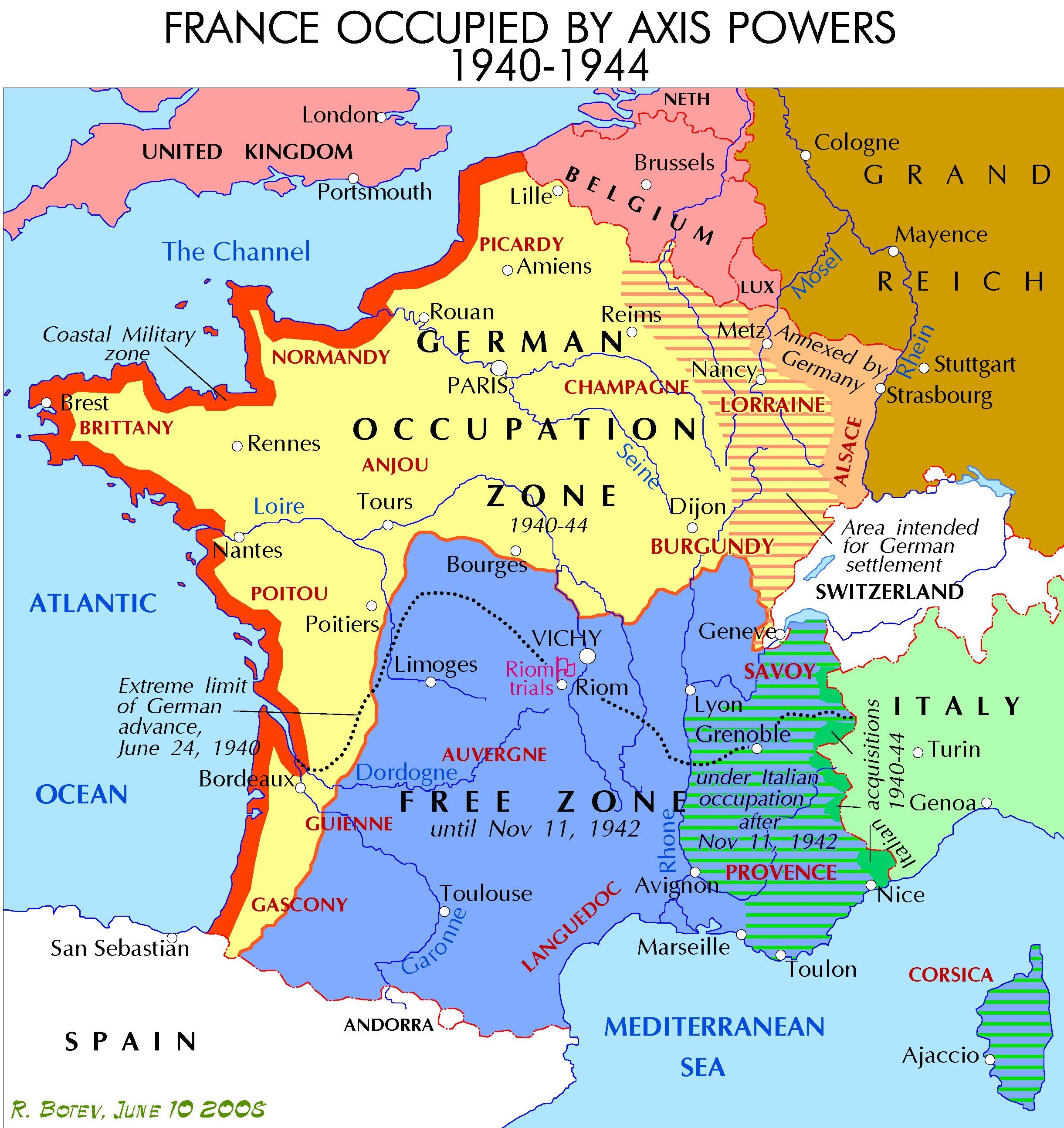 File Vichy France Map