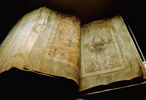 Codex Gigas - (Kungl. biblioteket)