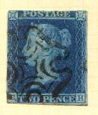 A 1841 printing on pale blue paper