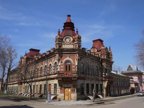 File:Иркутск. Дом Файнберга 2.JPG - Wikimedia Commons