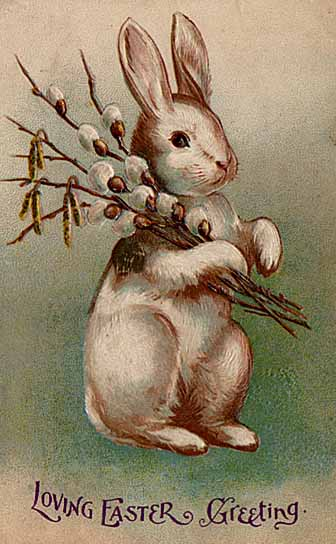 Easter postcard circa early 20th century