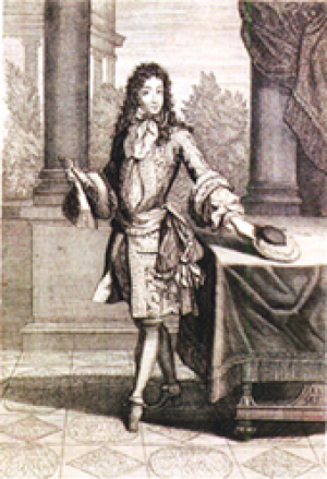 Anonymous drawing of Louis Armand de Bourbon (1661-1685) as Prince of Conti.png