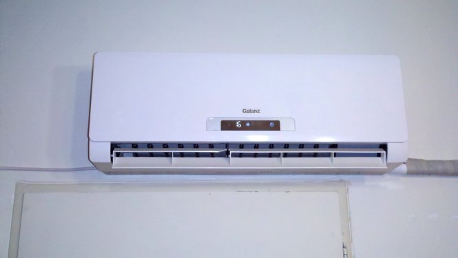 Indoor Part Of A Ductless Split Type Air Conditioner