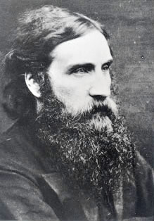 photograph of george macdonald, taken in the 1...